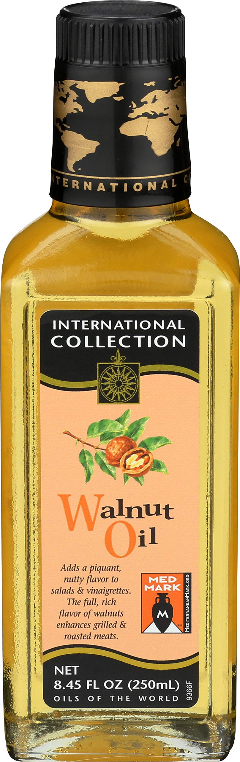 International Collection Walnut Oil, 8.45-Ounce (Pack of 3) by International Collection