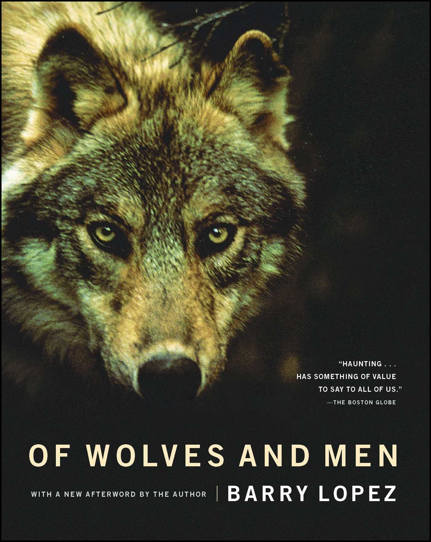 Of Wolves And Men Barry Holstun Lopez John Baugess 9780684163222