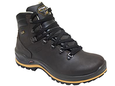 6f4492b387f Grisport Aztec Mens Wide Fit Waterproof Walking Boots Vibram Sole Brown UK 7