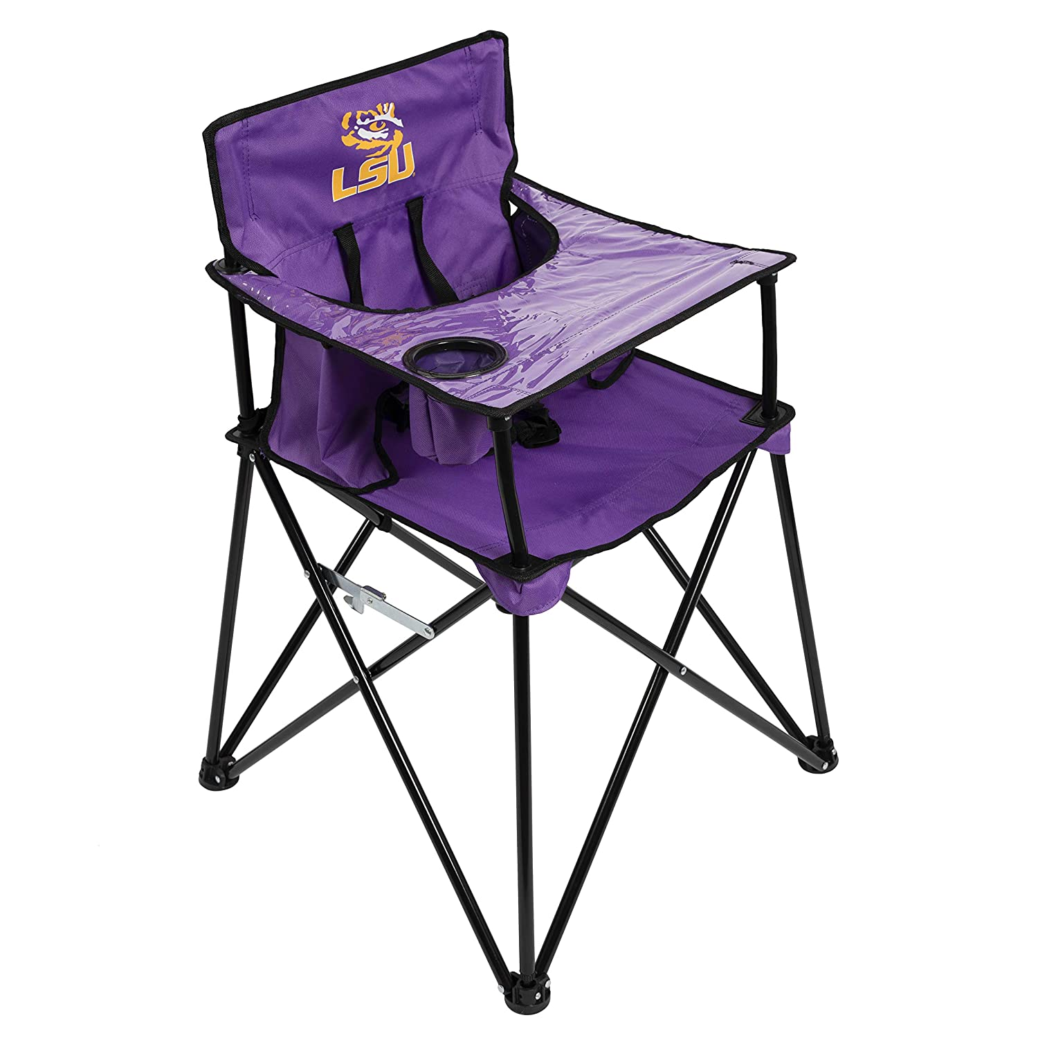 ciao baby NCAA Collegiate Portable High Chairs, Unisex Chair for Children, One Size