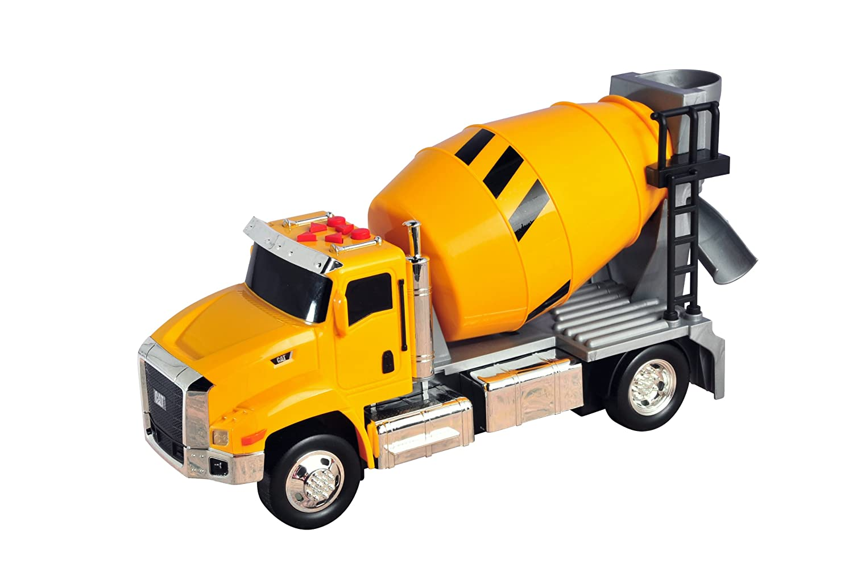 buy cat job site machine cement mixer yellow black online at