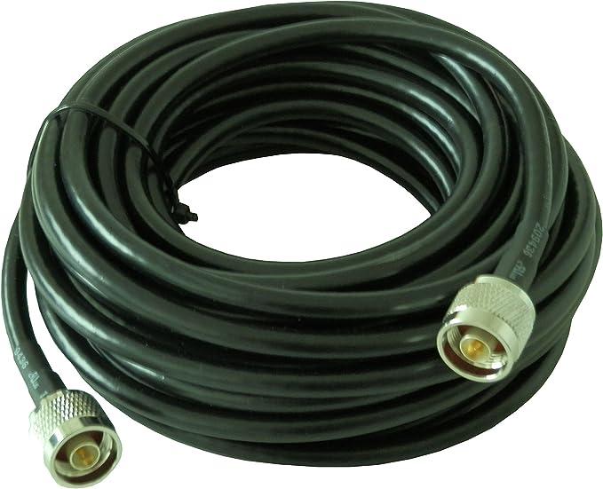 Signalbox - Cable coaxial de 5 m 50 Ohm 50 – 5 DE Baja ...