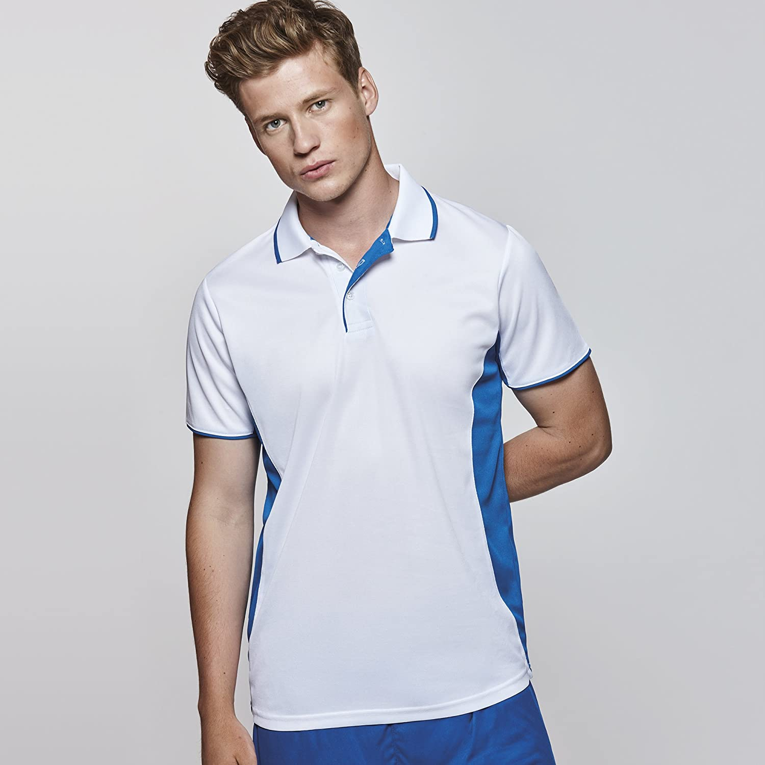 Impex12 Mens Two Color Sport Polo Shirt Golf Tennis Sportswear