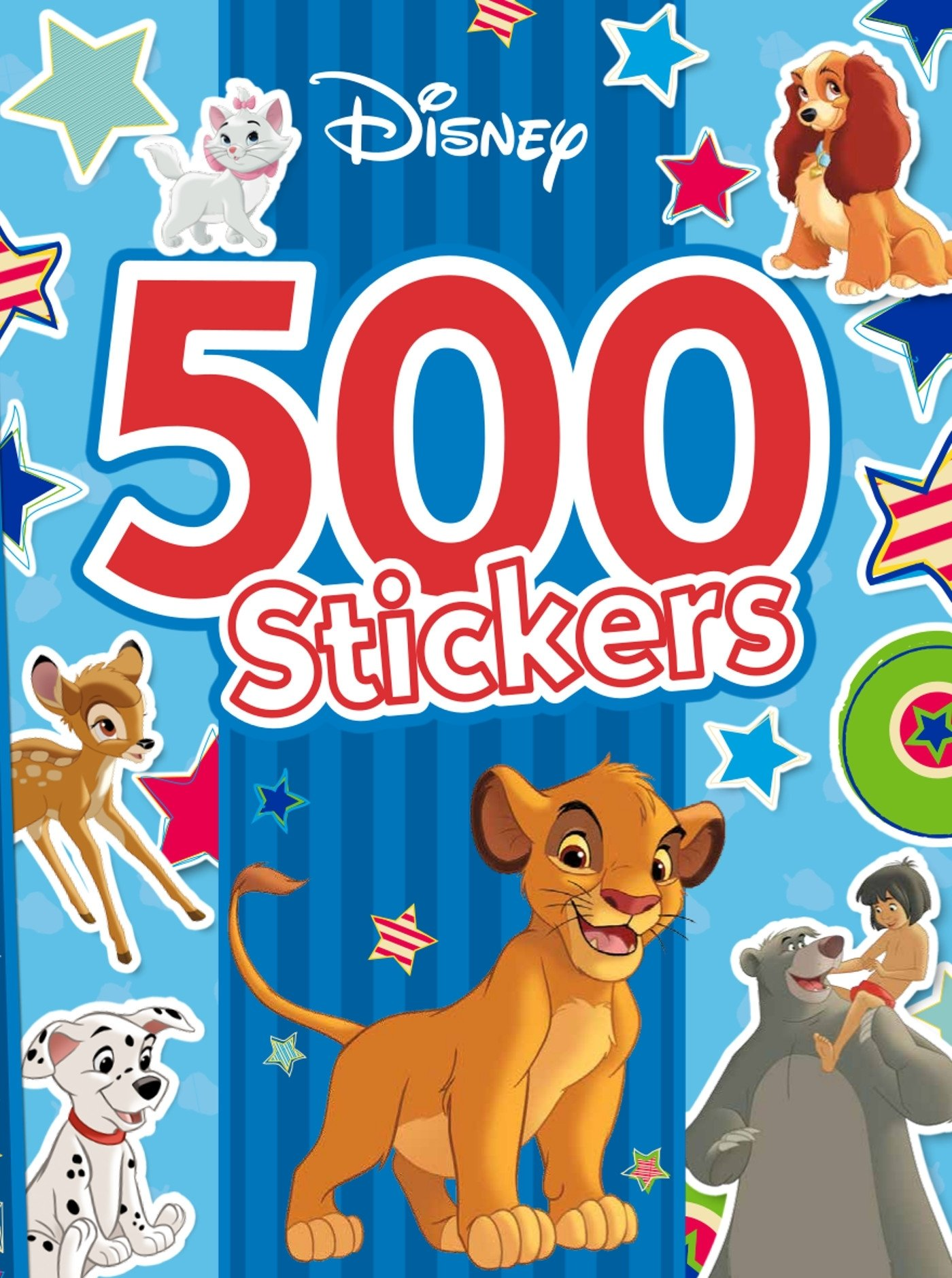 500 stickers Dinsey