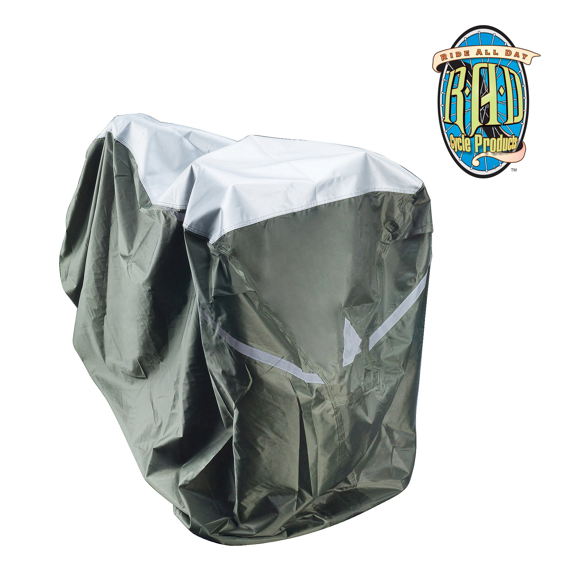 RAD Cycle Waterproof and Weatherproof Extra Large Bike Cover XL for Beach Cruisers, Mountain Bikes, Electric Bicycles