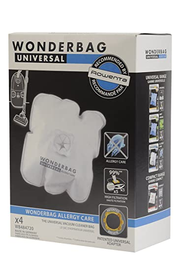 5 Sacchi Aspirapolvere Univ ROWENTA WB484720 Wonderbag Allergy Care