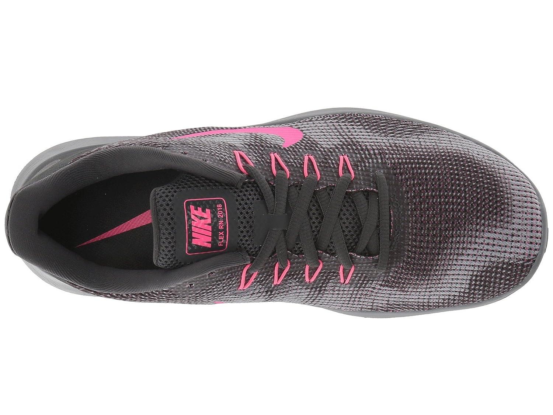 NIKE Women's Flex RN 2018 Running Shoe B075ZY4SFK 6.5 B(M) US|Anthracite/Hyper Pink/Wolf Grey