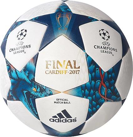 adidas Finale CDF Omb Balón de Fútbol, Hombre, (Blanco/Azumis ...