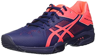ASICS Damen Gel-Solution Speed 3 Tennisschuhe, weiß, 49 EU