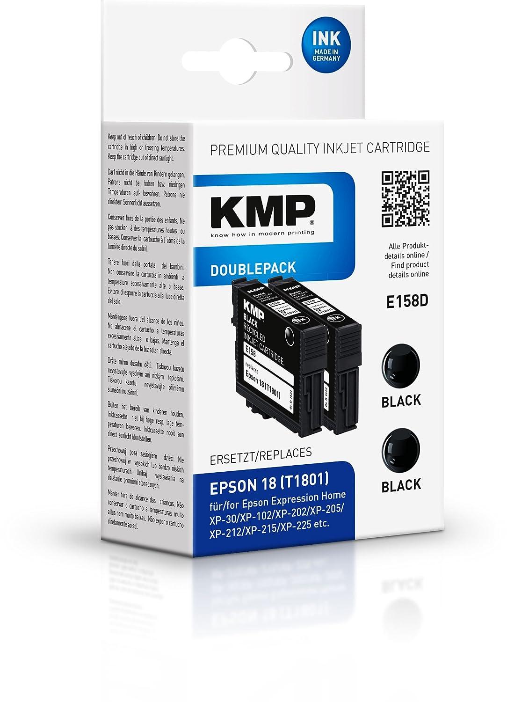 KMP E158D 5ml Negro 175páginas cartucho de tinta - Cartucho ...