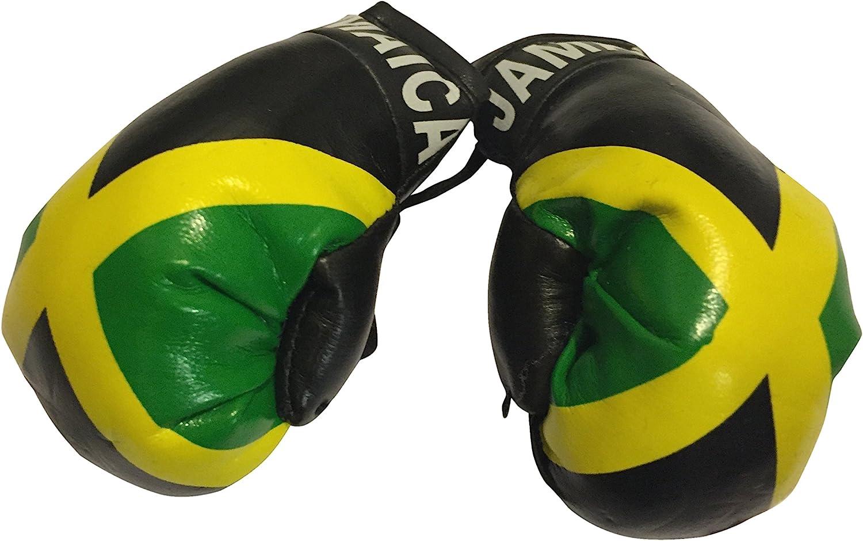 アメリカ国旗 ミニサイズ ボクシンググローブ 車のミラーに掛けられる - アメリカ Country: Jamaica-1
