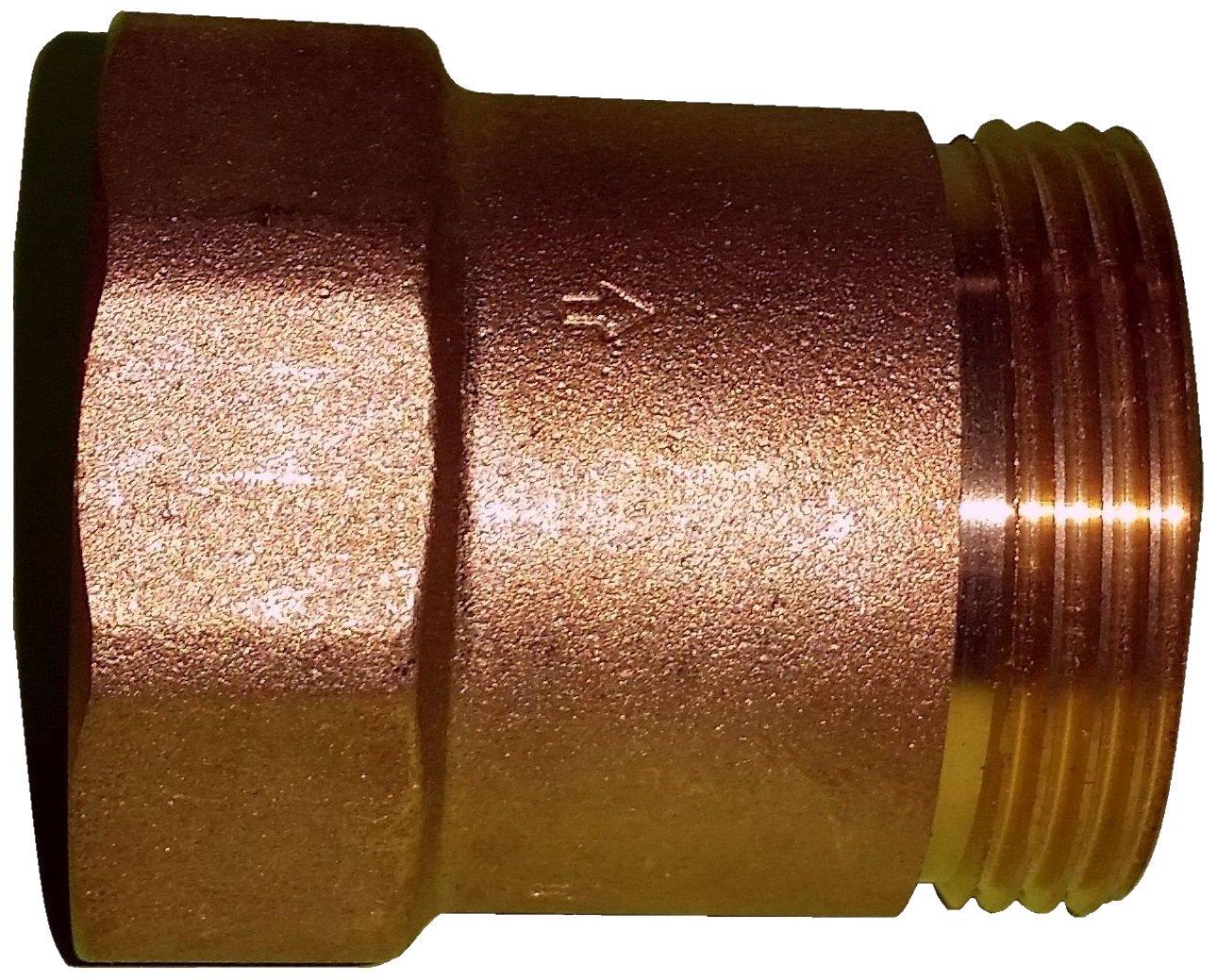Metabo Rü ckschlagventil 1 1/4 AG x 1 1/4 IG Zoll, 628805000