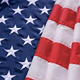 hogardeck American Flag 3×5 ft, US Outdoor Flags UV Protected, Embroider Stars, Sewn Stripes, Vivid Color, Double Stitched, B