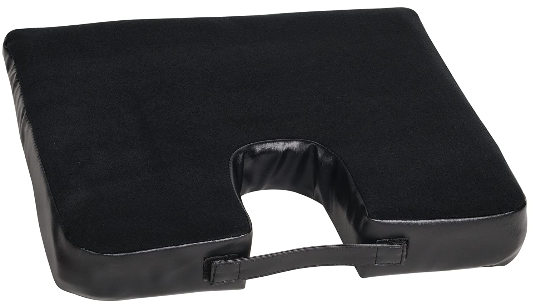 Allison 24-7370 Black Back Relief Seat Cushion Pack of 1 Allison Corporation