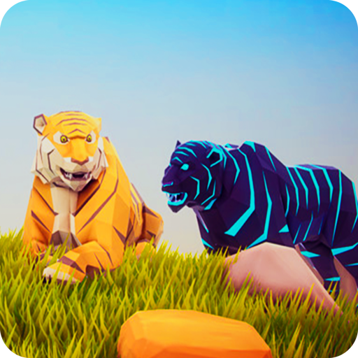 Tiger Simulator Poly Art Adventure