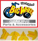 "WHEEL DRIVE INSERTS The Original ""Classic"" Big Wheel, Replacement Parts, Set of 4 Wheel Inserts, Yellow"