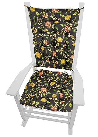Amazon.com: Juego de cojines para silla de balancín Barnett ...