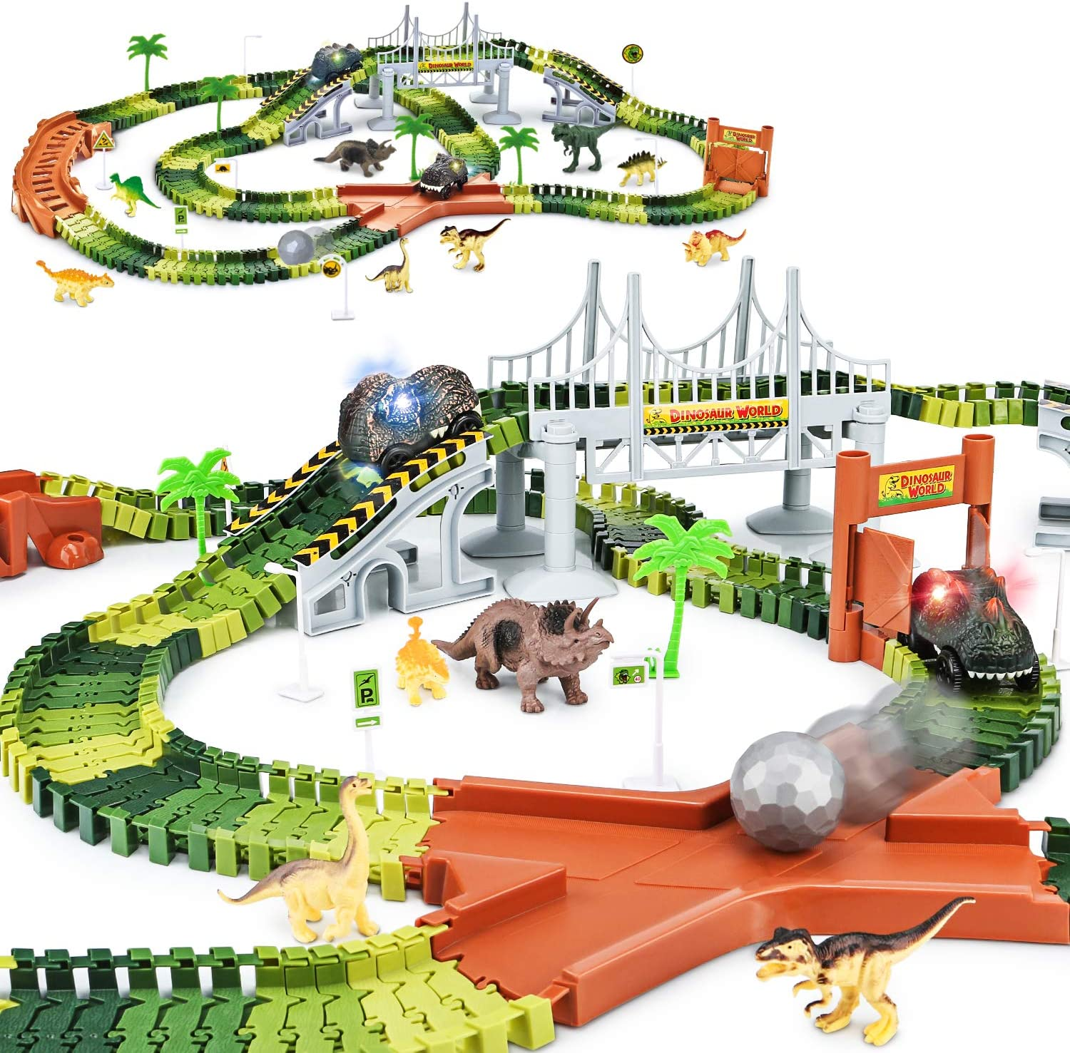 Dinosaur World – Race Track