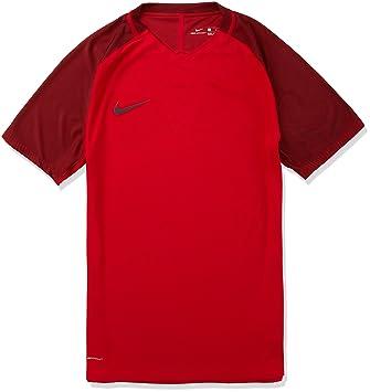 Nike M NK Strike Top SS Camiseta de Fútbol de Manga Corta, Hombre, Rojo