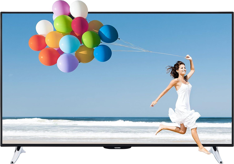 Telefunken l55 F243b3 C – Televisor 3D 140 cm (55 Pulgadas) (Full HD, sintonizador Triple, 3D, Smart TV), Color Negro: Amazon.es: Electrónica