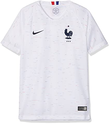 Amazon.com   Nike Youth Soccer France Away Jersey   Sports   Outdoors dd9ba99c0