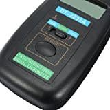 uxcell DT-2235A Contact Speed Digital Tachometer