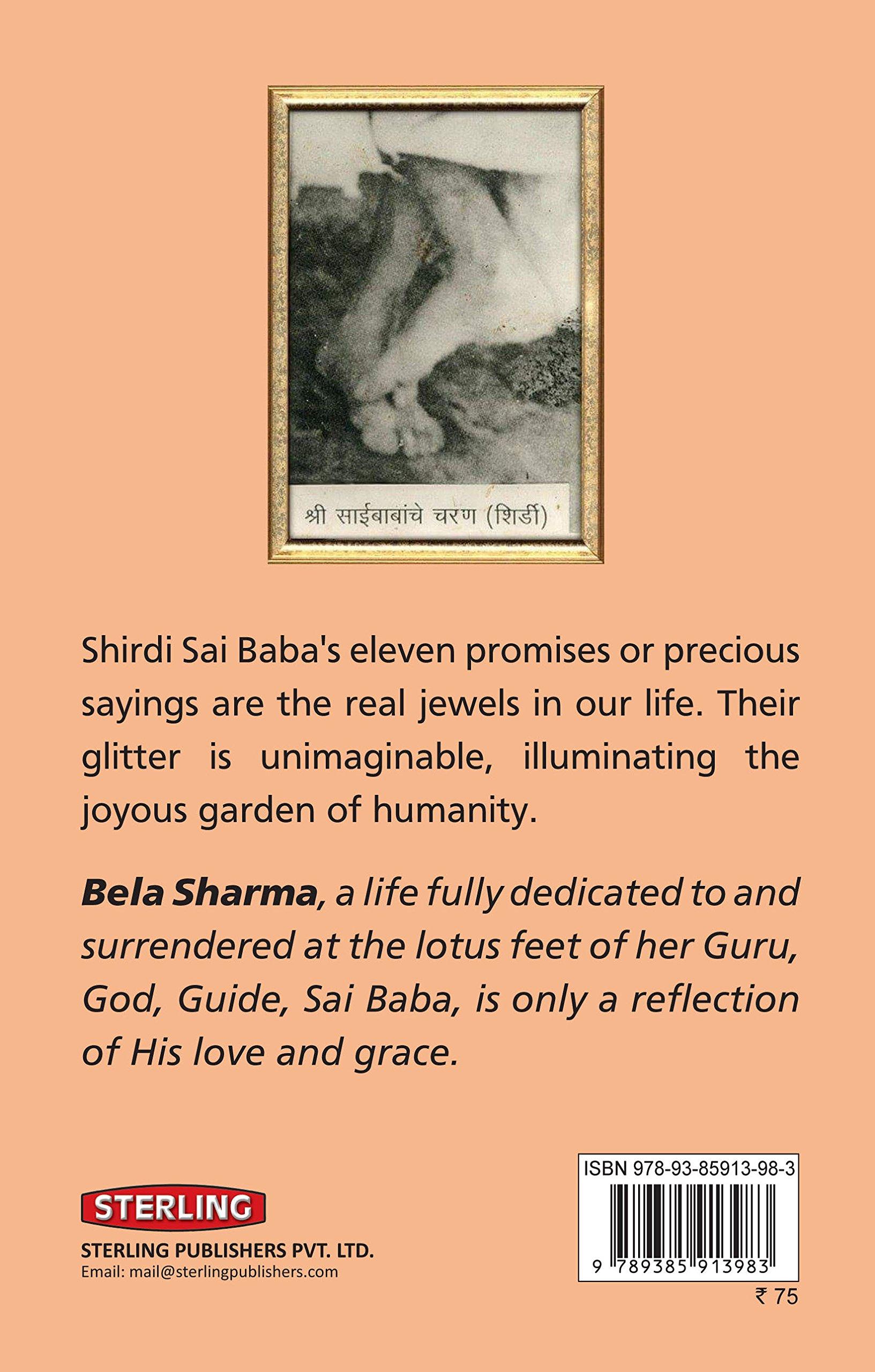 Promises of Shirdi Sai Baba: The Eleven Precious Sayings: Amazon co