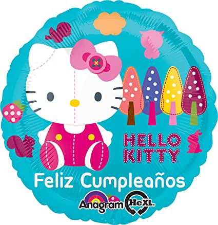 Amazon.com: Anagram International Hello Kitty Feliz ...