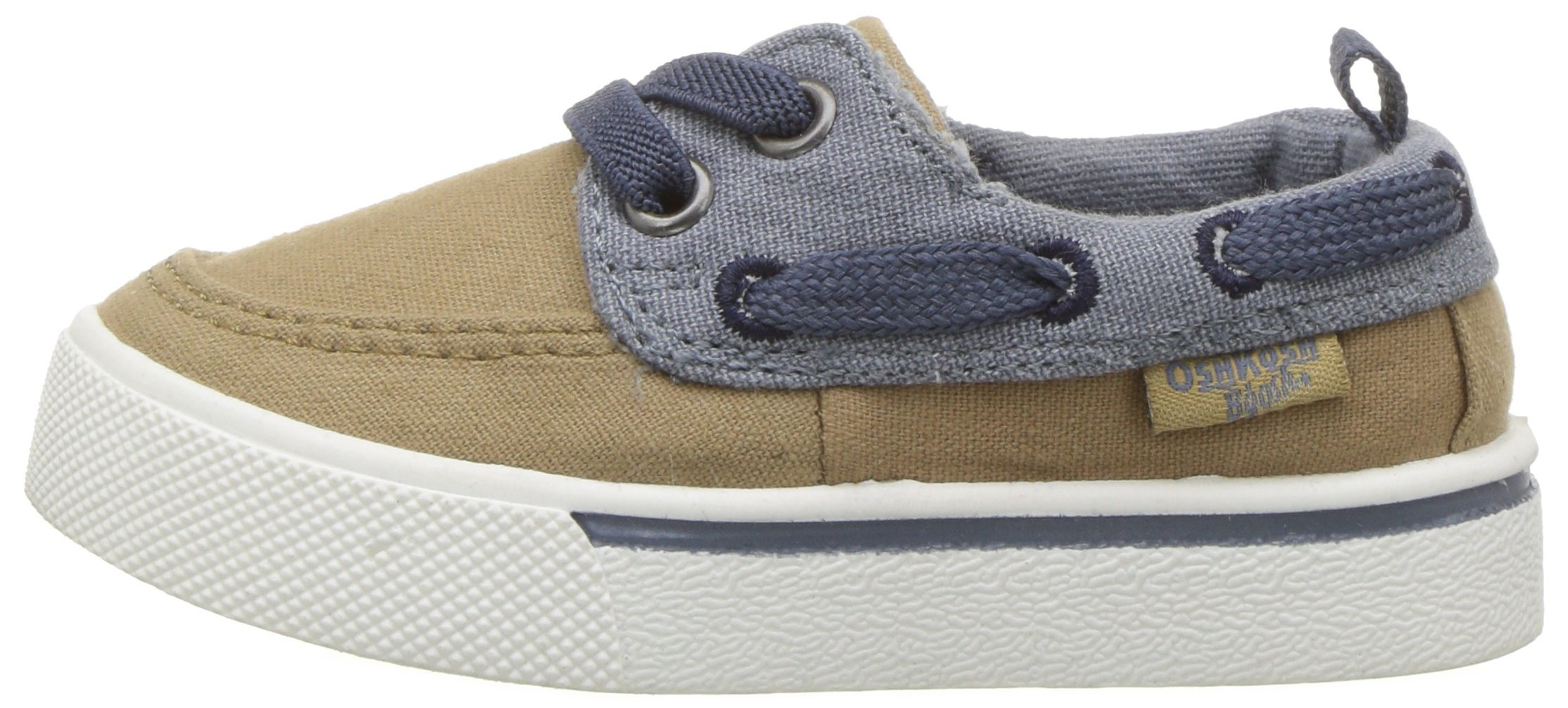 OshKosh B'Gosh Albie Boy's Boat Shoe, Khaki, 12 M US Little Kid by OshKosh B'Gosh (Image #5)