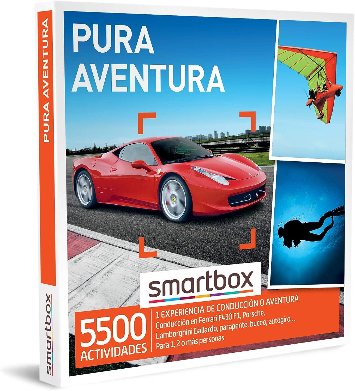 SMARTBOX - Caja Regalo - Pura Aventura - Idea de Regalo - 1 Experiencia de conducción o Aventura para 1, 2 o más Personas