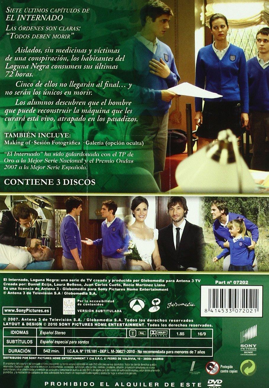 El Internado Temp 7 Parte 2 [DVD]: Amazon.es: Luis Merlo ...