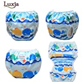 Luxja Reusable Swim Diaper (Pack of 2), Adjustable