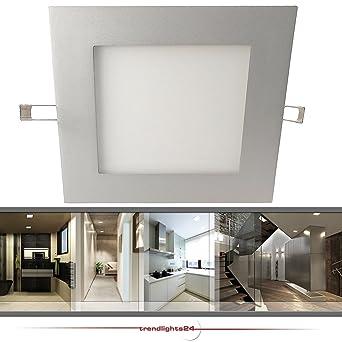 Deckenleuchte Einbauleuchte LED Panel CATRO IP20 extra flach 10W ...