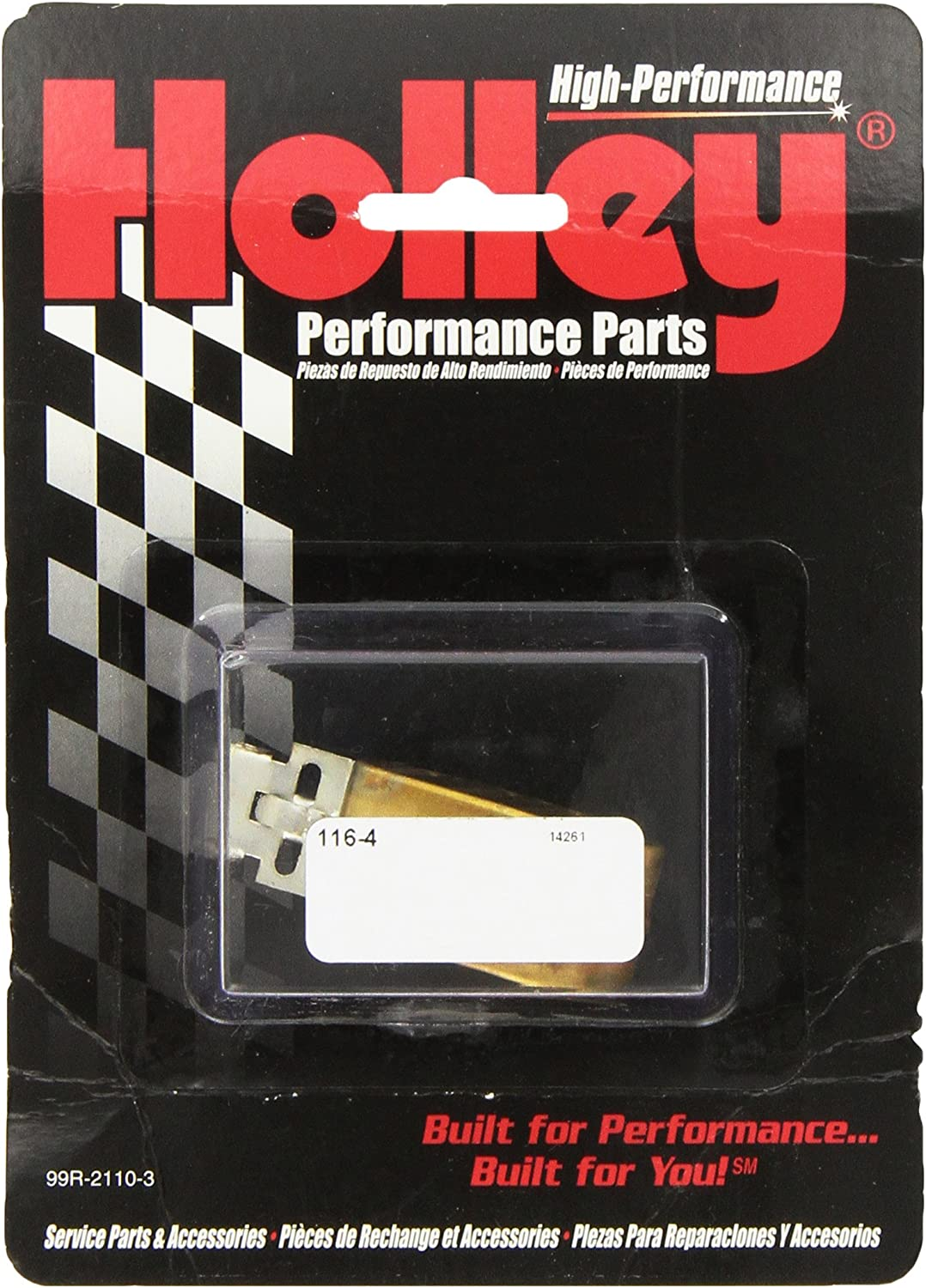 Holley 116-4 Side Hung Float Brass Float Assembly