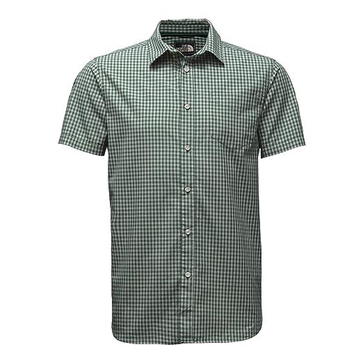 fddbbaf86 Amazon.com: The North Face Men's Short Sleeve Shadow Gingham Shirt ...