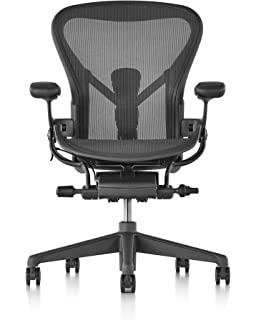 amazon com herman miller classic aeron chair size b posture fit
