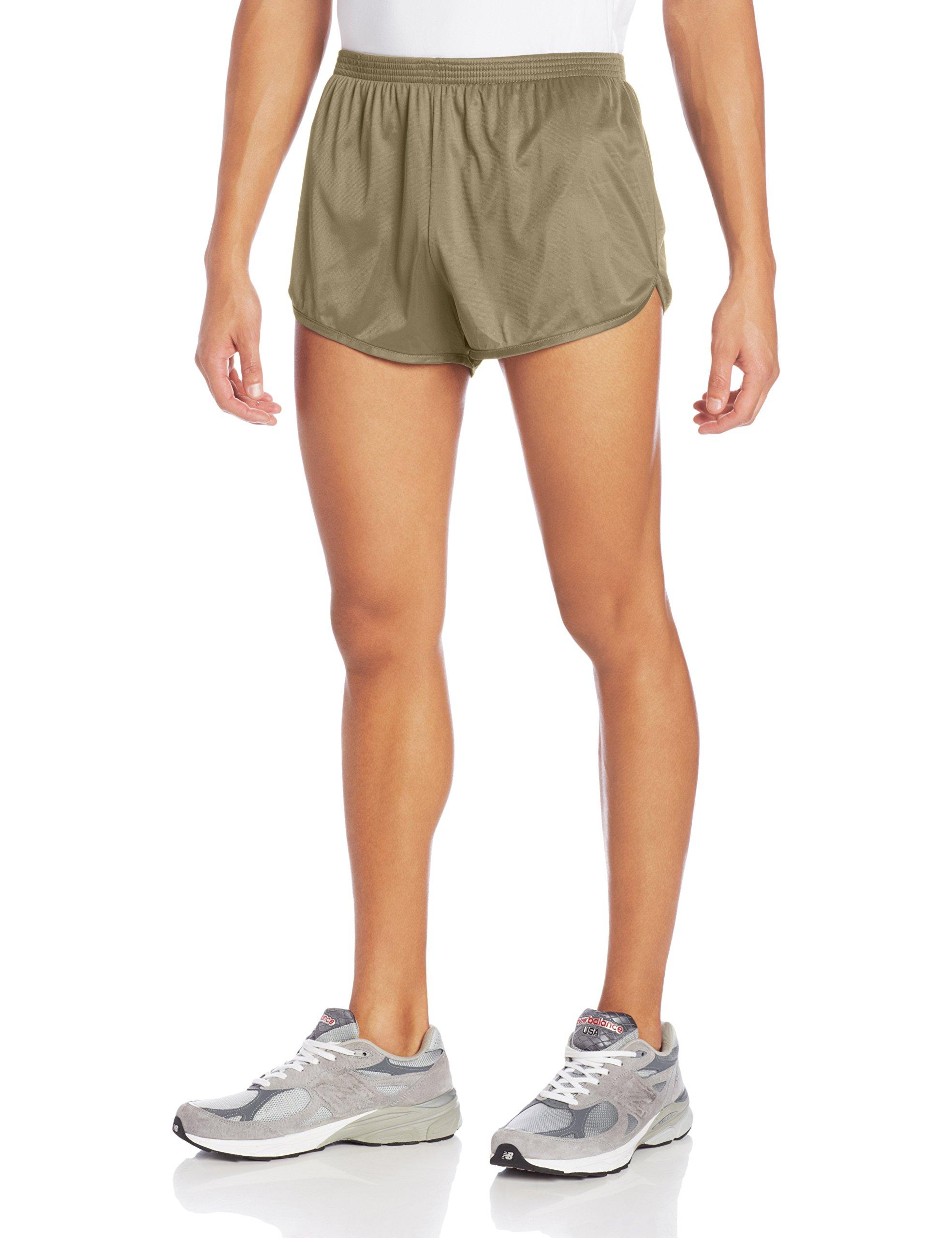Soffe Men's Ranger Panty Running Short, Tan, Medium
