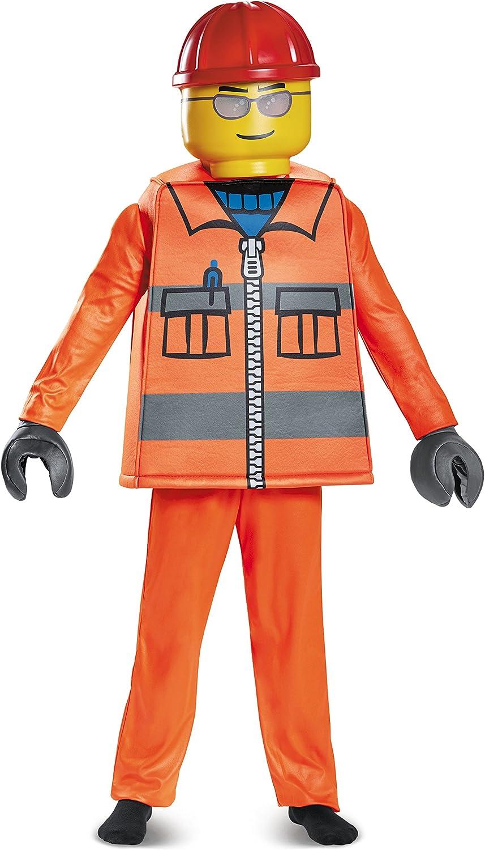 Generique - Disfraz obrero de construcción Lego niño 4-6 años (109 ...