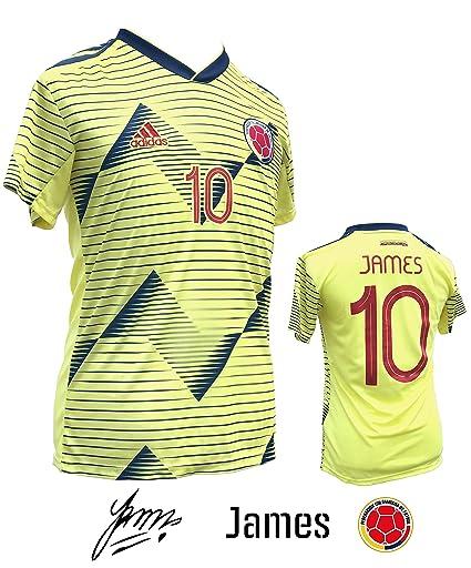 6efa3da1a36 Unica Colombian Home Soccer Jersey for Adults 2019-20 - COPA AMÉRICA 2019 -  Camiseta