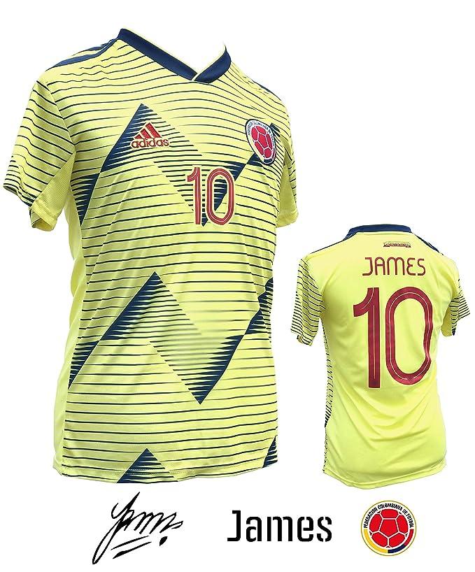 Unica Colombian Home Soccer Jersey for Adults 2019-20 - COPA AMÉRICA 2019 - Camiseta de la selección Colombiana de Fútbol Temporada Actual
