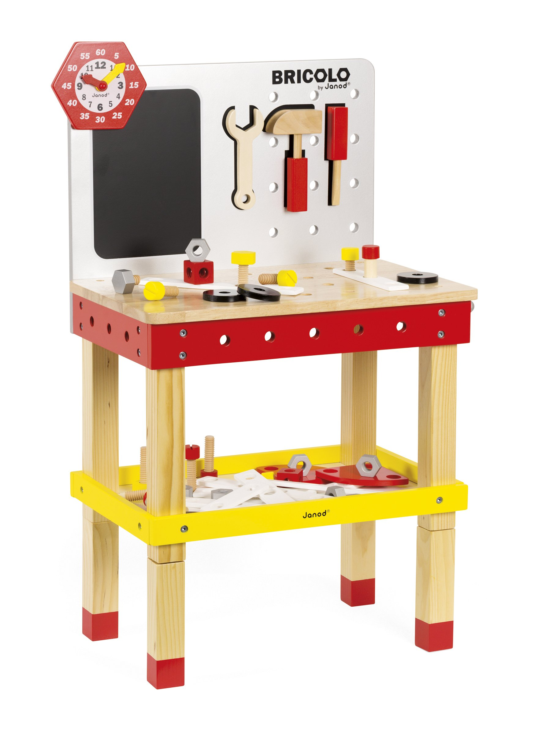 Janod Bricolo Redmaster Giant Magnetic Workbench