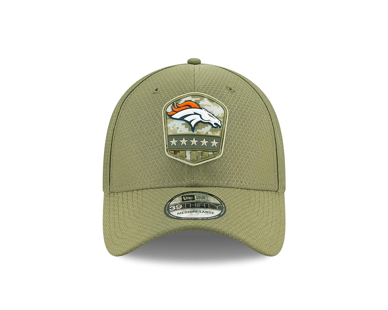 New Era Denver Broncos 39thirty Stretch Cap on Field 2019 Salute to Service