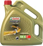 Castrol Power 1 Racing Aceite de Motores 10W-40 4T 4L (Sello inglés, francés y italiano)