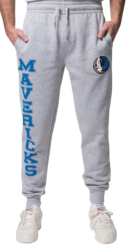 UNK NBA ジョガーパンツ スウェットパンツ メンズ アクティブ ベーシック ソフト テリー織 チームロゴ入り グレー S グレイ   B01LXPFQXD