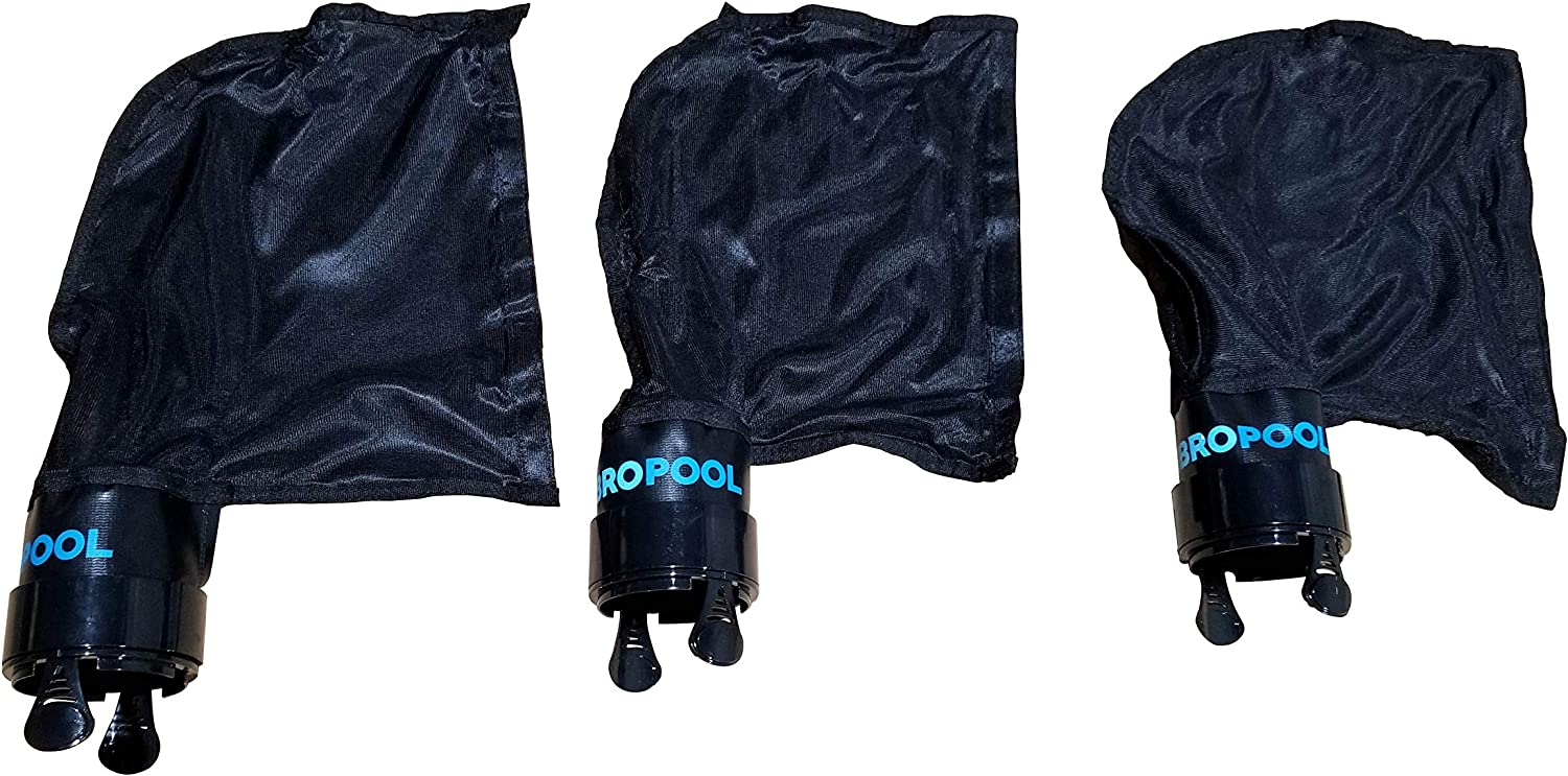 FibroPool Polaris 280 Replacement Bag (Black, 3 Pack)