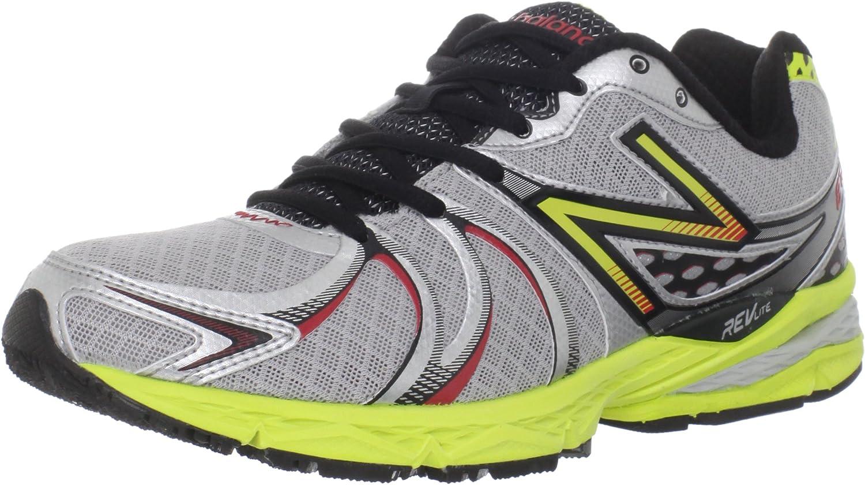 Fácil Espinas Ruina  Amazon.com | New Balance Mens M870v2 Light Stability Running Shoe,  Silver/Red, 9.5 | Road Running