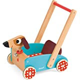Janod Crazy Doggy - Walking Cart Toy, Mixed