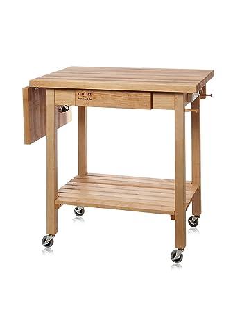 kitchen culinary cart w  in drop leaf: leaf kitchen cart