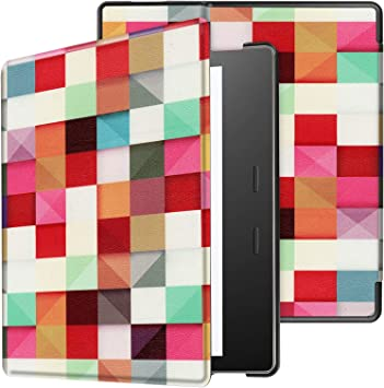 Amazon Com Case For Amazon Kindle Oasis 2019 7 Inch Smart Cover Etui With Stand And Auto Sleep Wake Feature Computers Accessories