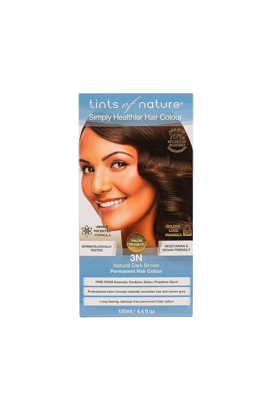 Tints Of Nature Organic 3n Natural Dark Brown Permanent Hair Colour